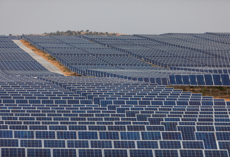 Solar power in the Narketpally site - Telangana - India