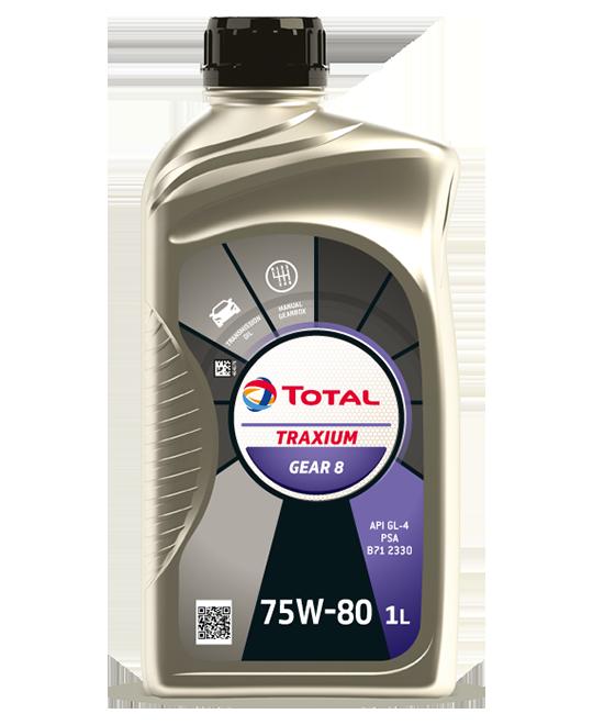 TOTAL TRAXIUM GEAR 8 75W-80