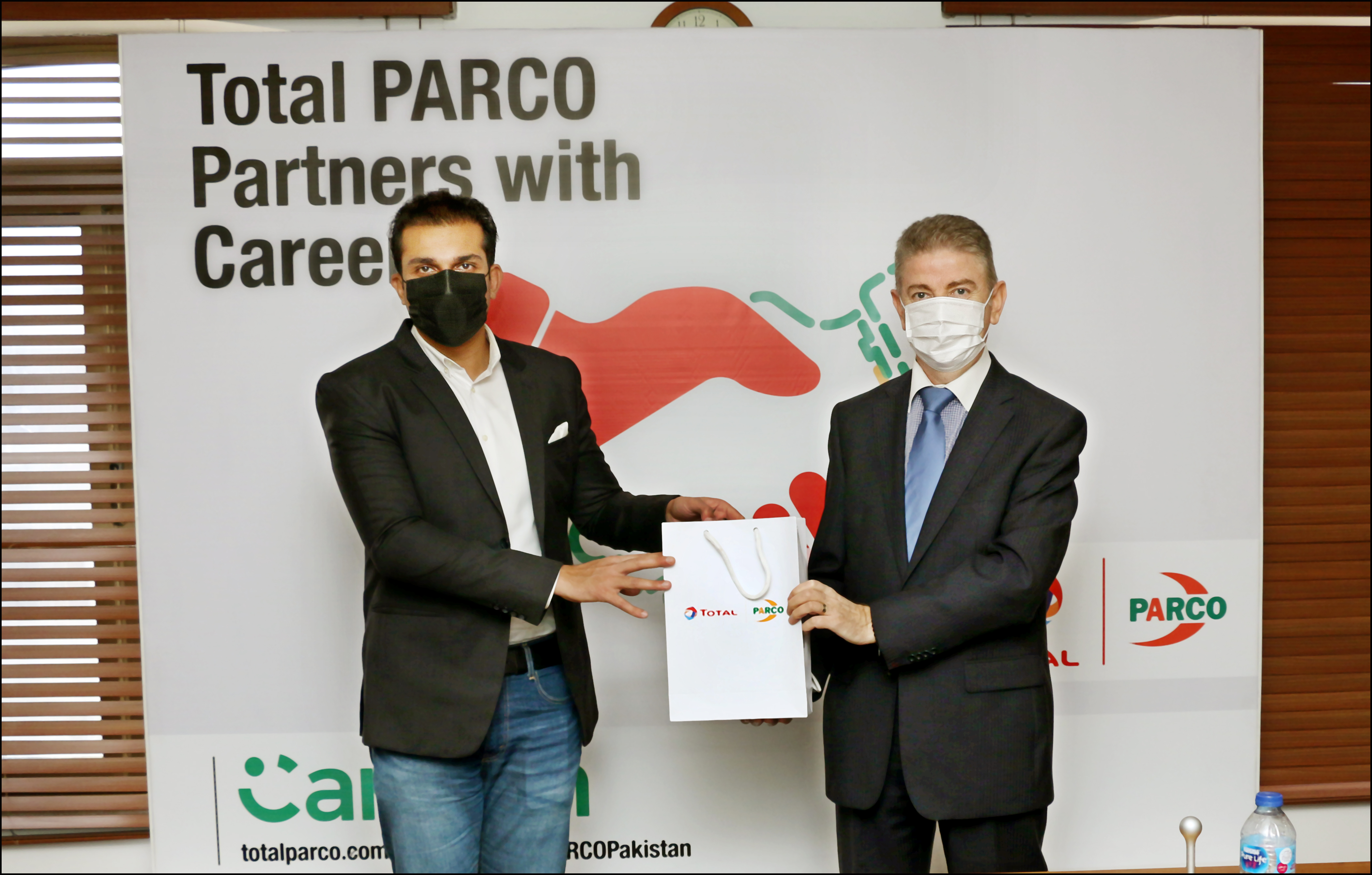 Total Parco partners with careem to provide its captains with speedy mobility solutions