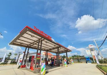 TotalEnergies service station in Kuor Srov