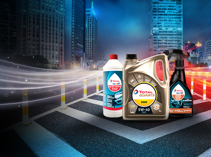 TotalEnergies automotive products on Lazada