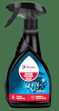 TotalEnergies engine cleaner spray bottle