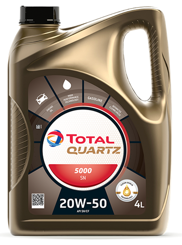 TOTAL QUARTZ 5000 SN 20W50